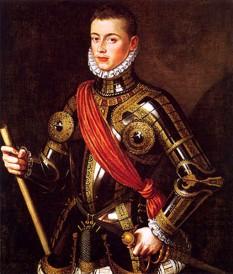 Ioan al Austriei (cunoscut și ca Don Juan de Austria, n. 24 februarie 1547, Regensburg - d. 1 octombrie 1578, Bruges), principe, general și amiral spaniol - foto: ro.wikipedia.org