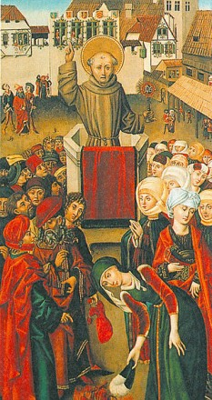 Ioan de Capistrano (n. 24 iunie 1386 – † 23 octombrie 1456), călugăr și teolog franciscan - foto: ro.wikipedia.org