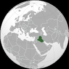 Amplasarea Irakului - foto: ro.wikipedia.org