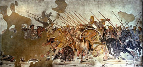 Bătălia de la Issos, parte a Războaielor lui Alexandru cel Mare, a avut loc în anul 333 î.Hr., între macedonenii conduși de Alexandru cel Mare și perșii conduși de Darius al III-lea foto: ro.wikipedia.org