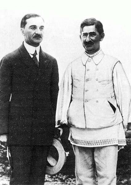 Iuliu Maniu și Ion Mihalache - foto dreptatea.ro (preluat de pe evz.ro)
