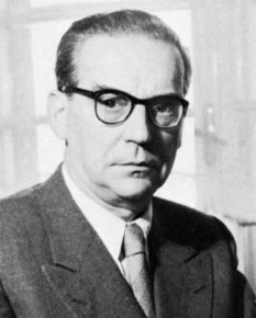 Ivo Andrić (în sârbă: Иво Андрић; n. 9 octombrie 1892, Travnik – d. 13 martie 1975, Belgrad), scriitor sârb, laureat al Premiului Nobel pentru Literatură în anul 1961 - foto: ro.wikipedia.org
