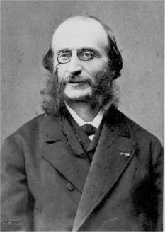 Jacques Offenbach (nume la naștere: Jacob Eberst, n. 20 iunie 1819, Köln - d. 5 octombrie 1880, Paris), compozitor și violoncelist evreu originar din Germania, naturalizat francez - foto: ro.wikipedia.org
