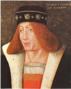 James al II-lea al Scotiei, (n. 16 octombrie 1430), Regele Scotiei, a domnit intre 21 februarie 1437  si  3 august 1460 - foto: cersipamantromanesc.wordpress.com