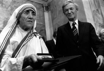 Pentru activitatea sa, Maica Tereza a primit Premiul Nobel pentru Pace în octombrie 1979 - foto: transilvaniareporter.ro