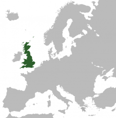 Amplasarea Marii Britanii - foto: ro.wikipedia.org