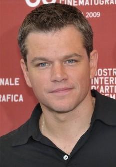 """Matthew Paige """"Matt"""" Damon (n. 8 octombrie 1970), actor, scenarist și producător de film american, care a devenit cunoscut pentru rolul din filmul Good Will Hunting (1997), al cărui scenariu l-a scris împreună cu prietenul său Ben Affleck - foto (Matt Damon în 2009): ro.wikipedia.org"""
