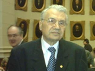 Mihai Drăgănescu (n. 6 octombrie 1929, comuna Făget, județul Prahova, d. 28 mai 2010), inginer, autor, eseist și filozof român, specialist în electronică, membru corespondent, membru titular și președinte al Academiei Române - foto: emaramures.ro