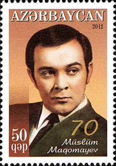 "Muslim Mahammad oglu Magomayev (Azerbaijani: Müslüm Məhəmməd oğlu Maqomayev, August 17, 1942 – October 25, 2008), dubbed the ""King of Songs"" and the ""Soviet Sinatra""  was a Soviet and Azerbaijani baritone operatic and pop singer of the 1960s and 1970s. He achieved iconic status in Russia and the post-Soviet countries, including his native Azerbaijan, for his vocal talent and charisma -  foto: en.wikipedia.org"