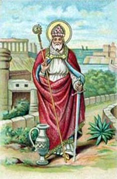 Sfântul Narcis, Patriarh de Ierusalim, (?-212) foto: calendarcatolic.ro