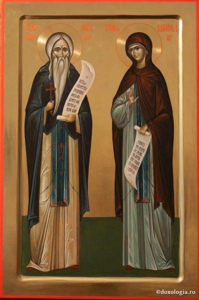 Sfântul Neofit din Cipru și Sfânta Cuvioasă Parascheva - foto: doxologia.ro