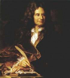 Nicolas Boileau sau Despréaux (n. 1 noiembrie 1636 în Paris; d. 13 martie 1711 Paris), scriitor francez. Este considerat cel mai mare teoretician al literaturii franceze foto: ro.wikipedia.org