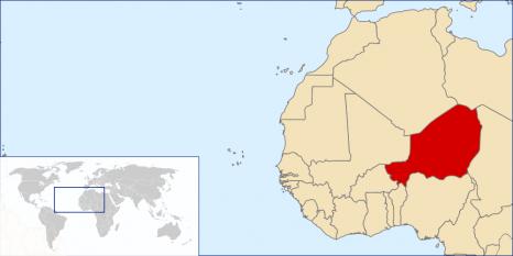 Amplasarea Nigerului - foto: ro.wikipedia.org