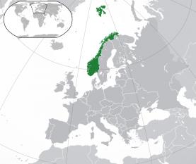 Amplasarea Norvegiei - foto: ro.wikipedia.org