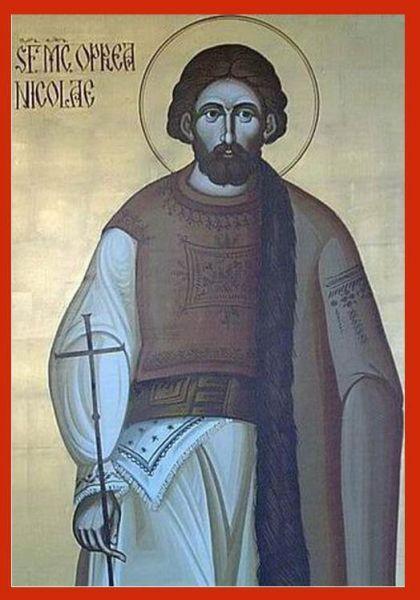 Sfântul Mucenic Oprea Nicolae. Prăznuirea sa de către Biserica Ortodoxă Romana se face la data de 21 octombrie - foto: doxologia.ro