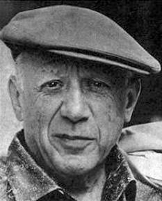 Pablo Ruiz y Picasso, cunoscut ca Pablo Picasso (n. 25 octombrie 1881, Malaga - d. 8 aprilie 1973, Mougins/Cannes), artist plastic spaniol - foto: ro.wikipedia.org