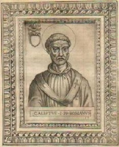 Papa Calixt I a deținut funcția papală în perioada anilor 218 – 222 - foto: ro.wikipedia.org