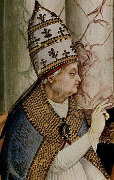 Pius al II-lea, pe numele civil Enea Silvio de' Piccolomini, latinizat Aeneas Sylvius (n. 18 octombrie 1405, în apropiere de Siena - d. 14 august 1464, Ancona), gânditor erudit, papă din 1458 până în 1464 - foto: ro.wikipedia.org