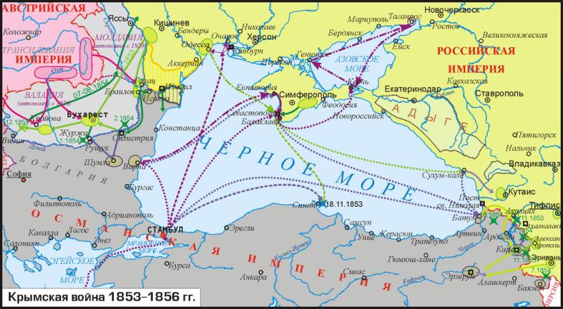 Războiul Crimeii (1853–1856) - foto preluat de pe en.wikipedia.org
