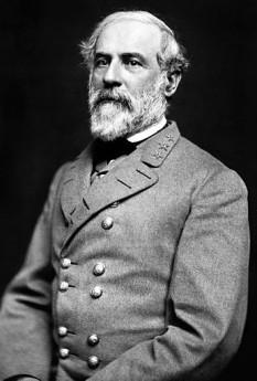 Robert Edward Lee (n. 19 ianuarie 1807 — d. 12 octombrie 1870), ofițer și inginer american, unul din cei mai respectați generali din istoria militară americană - foto (Generalul Lee în 1863): ro.wikipedia.org