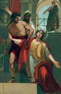 Sf. Sabina, martiră († 120 sau 126, Roma)  foto: calendarcatolic.ro