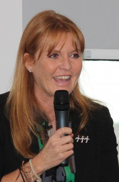 Sarah, Duchess of York (Sarah Margaret; née Ferguson; born 15 October 1959) is a British writer, charity patron, public speaker, film producer and television personality - foto (The Duchess in 2008): en.wikipedia.org