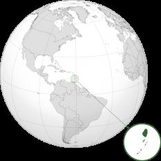 Amplasarea insulelor Sfântul Vicențiu și Grenadinele foto: ro.wikipedia.org
