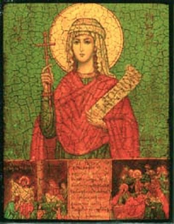 Sfânta Cuvioasă Tavita. Prăznuirea sa de către Biserica Ortodoxă Romana se face la data de 25 octombrie - foto: doxologia.ro