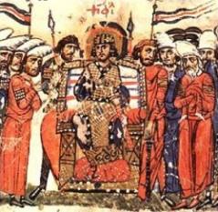Imparatul Teophilos (n.813– d. 20 ianuarie 842) - foto: cersipamantromanesc.wordpress.com