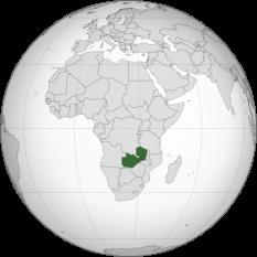 Amplasarea Zambiei foto: ro.wikipedia.org