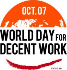 Ziua Mondială a Muncii Decente - foto: stlucianewsonline.com