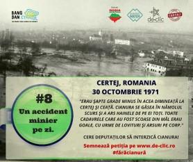 44 de ani de la catastrofa Certej.  foto: facebook.com