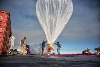 Google Loon, Internetul vine cu balonul foto: timpul.md