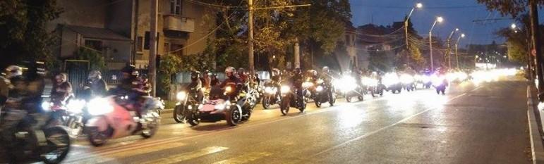 Bucuresti, Marsul motociclistilor - foto: hotnews.ro