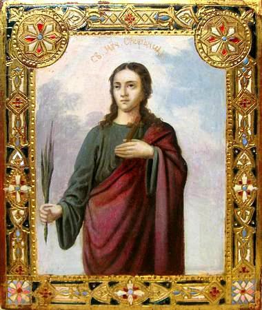 Sfânta Muceniță Ștefanida. Prăznuirea sa de către Biserica Ortodoxă se face la data de 11 noiembrie - foto: doxologia.ro