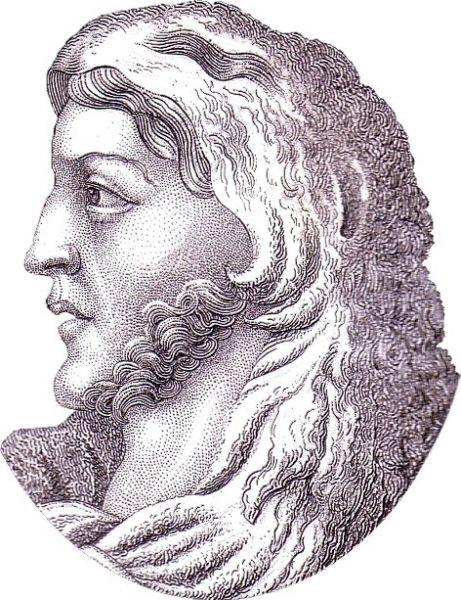 Alaric (Alarich sau Ulrich, în latină Alaricus) s-a născut în jurul anului în anul 370 în Dobrogea de astăzi, în preajma Deltei Dunării, fie în insula Peuce (un grind din deltă), fie mai probabil în castrul de la Platei Pegiae, vizigoții fiind atunci foederati ai romanilor (castrul se găsește pe teritorul actualei comune Dunavățu de Jos) - in imagine, Portrait of Alaric in C. Strahlheim, Das Welttheater, 4. Band, Frankfurt a.M., 1836 - foto: ro.wikipedia.org