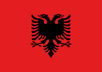 Drapelul Albaniei - foto: ro.wikipedia.org