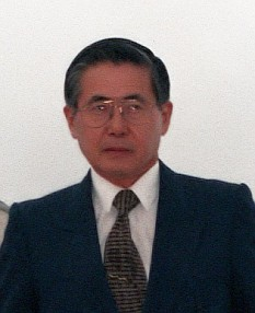 Alberto Fujimori (born 28 July 1938) is a former Peruvian politician. He was President of Peru from 28 July 1990 to 22 November 2000. - foto (Fujimori at Andrews Air Force Base in 1998): en.wikipedia.org