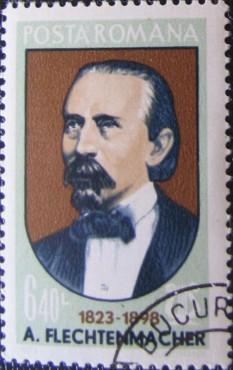 Alexandru Adolf Flechtenmacher (n. 23 decembrie 1823, Iași - d. 28 ianuarie 1898, București), compozitor, violonist, dirijor și pedagog din România, autorul muzicii pentru Hora Unirii. foto: ro.wikipedia.org