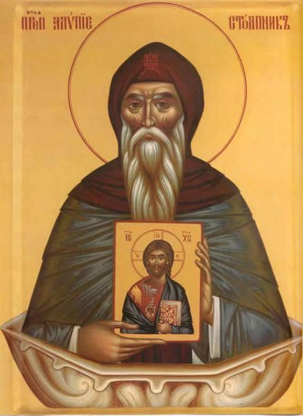 Sf. Cuv. Alipie Stâlpnicul (†640) - foto preluat de pe doxologia.ro