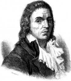 François Noël Babeuf (cunoscut și ca Gracchus Babeuf, n. 23 noiembrie 1760 - d. 27 mai 1797), revoluționar francez, teoretician al comunismului utopic, fondator al ziarului Le Tribun du peuple și conducător al Conspirației egalilor împotriva guvernului reacționar al Directoratulului - foto: ro.wikipedia.org