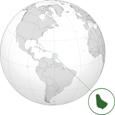 Amplasarea Barbadosului - foto: ro.wikipedia.org
