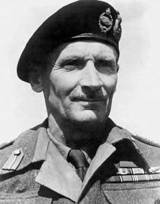 Bernard Law Montgomery (n. 17 noiembrie 1887 – d. 24 martie 1976) , feldmareșal britanic, unul dintre principalii comandanți militari britanici din timpul celui de-al doilea război mondial - foto: ro.wikipedia.org