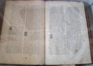 Biblia de la București (cunoscută și sub denumirea de Biblia Cantacuzino) a fost prima traducere completă a Bibliei în limba română, fiind publicată la București în 1688 - foto: ro.wikipedia.org