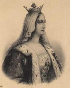 Blanche a Castiliei (în spaniolă Blanca de Castilla) (4 martie 1188 – 26 noiembrie 1252), regină consoartă a Franței ca soție a regelui Ludovic al VIII-lea. A fost regentă de două ori în timpul domniei fiului ei, Ludovic al IX-lea - foto: cersipamantromanesc.wordpress.com