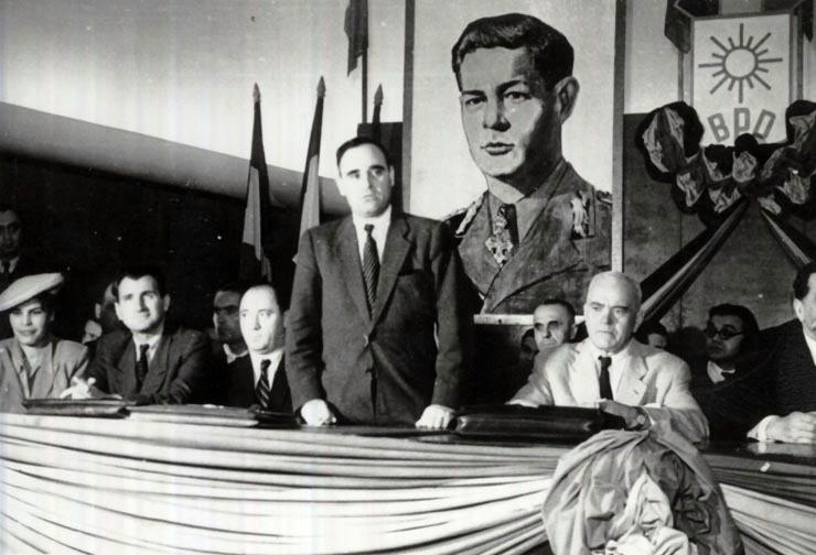 Conferinta Blocului Partidelor Democratice (Sala Dalles - 24 octombrie 1946) - foto: foaienationala.ro