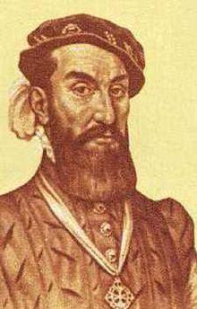 Álvar Núñez Cabeza de Vaca (n. cca. 1488/1490, Jerez de la Frontera – d. ca. 1557/1558, Valladolid), explorator spaniol al Lumii Noi, unul dintre cei patru supraviețuitori ai expediției Narváez. El este considerat a fi un proto-antropolog, datorită descrierilor detaliate ale numeroaselor triburi de amerindieni, studii publicate în 1542 sub titlul La Relación (Relatarea), denumită mai târziu Naufragios (Naufragiile) - foto: en.wikipedia.org
