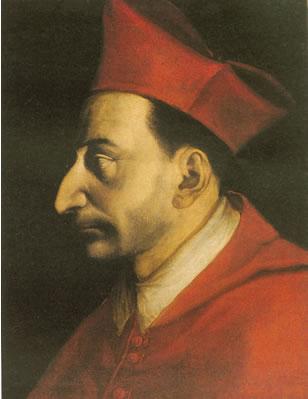 Carlo Borromeo, latinizat Carolus Borromaeus, (n. 2 octombrie 1538, Arona - d. 3 noiembrie 1584, Milano) a fost un arhiepiscop de Milano, cardinal, reprezentant important al Contrareformei, canonizat ca sfânt în anul 1610 - foto: ro.wikipedia.org