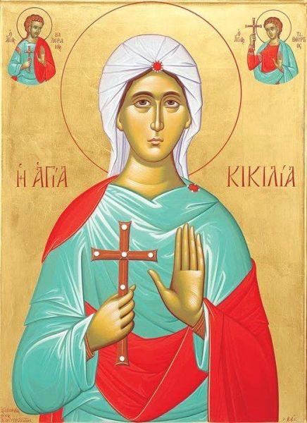 Sfânta Muceniță Cecilia. Prăznuirea sa în Biserica Ortodoxă se face la 22 noiembrie - foto: doxologia.ro