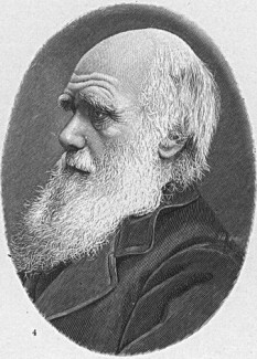 """Charles Darwin (n. 12 februarie 1809, Shrewsbury, Shropshire - d. 19 aprilie 1882, Down, lângă Beckenham, Kent) este cel mai celebru naturalist britanic, geolog, biolog și autor de cărți, fondatorul teoriei referitoare la evoluția speciilor (teoria evoluționistă). A observat că toate speciile de forme de viață au evoluat de-a lungul timpului din anumiți strămoși comuni, ca rezultat al unui proces pe care l-a numit """"selecție naturală"""", toate acestea fiind publicate în cea mai celebra scriere a sa, """"Originea speciilor"""", (1859). Teoria evoluționistă a fost recunoscută de către comunitatea științifică și publicul larg încă din timpul vieții sale, în timp ce teoria selecției naturale a fost considerată ca prim argument al procesului evoluției abia prin anii 1930' iar acum constituie baza evoluționismului sintetic. Tratează evoluția umană și selecția sexuală în lucrarea Originea omului, urmată de Exprimarea emoțiilor la oameni și animale. Observațiile sale asupra plantelor au fost publicate într-o serie de cărți, iar in ultima sa lucrare, a examinat râmele și efectul pozitiv al acestora asupra solului - foto: ro.wikipedia.org"""